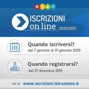 ISCRIZIONI ON LINE 2020-2021